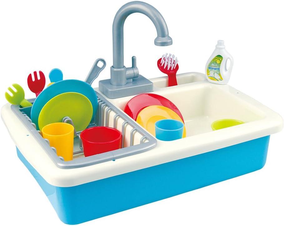 PlayGo - Fregadero con agua y 20 piezas (44591)