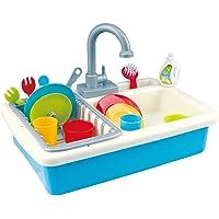 PlayGo - Fregadero con agua y 20 piezas
