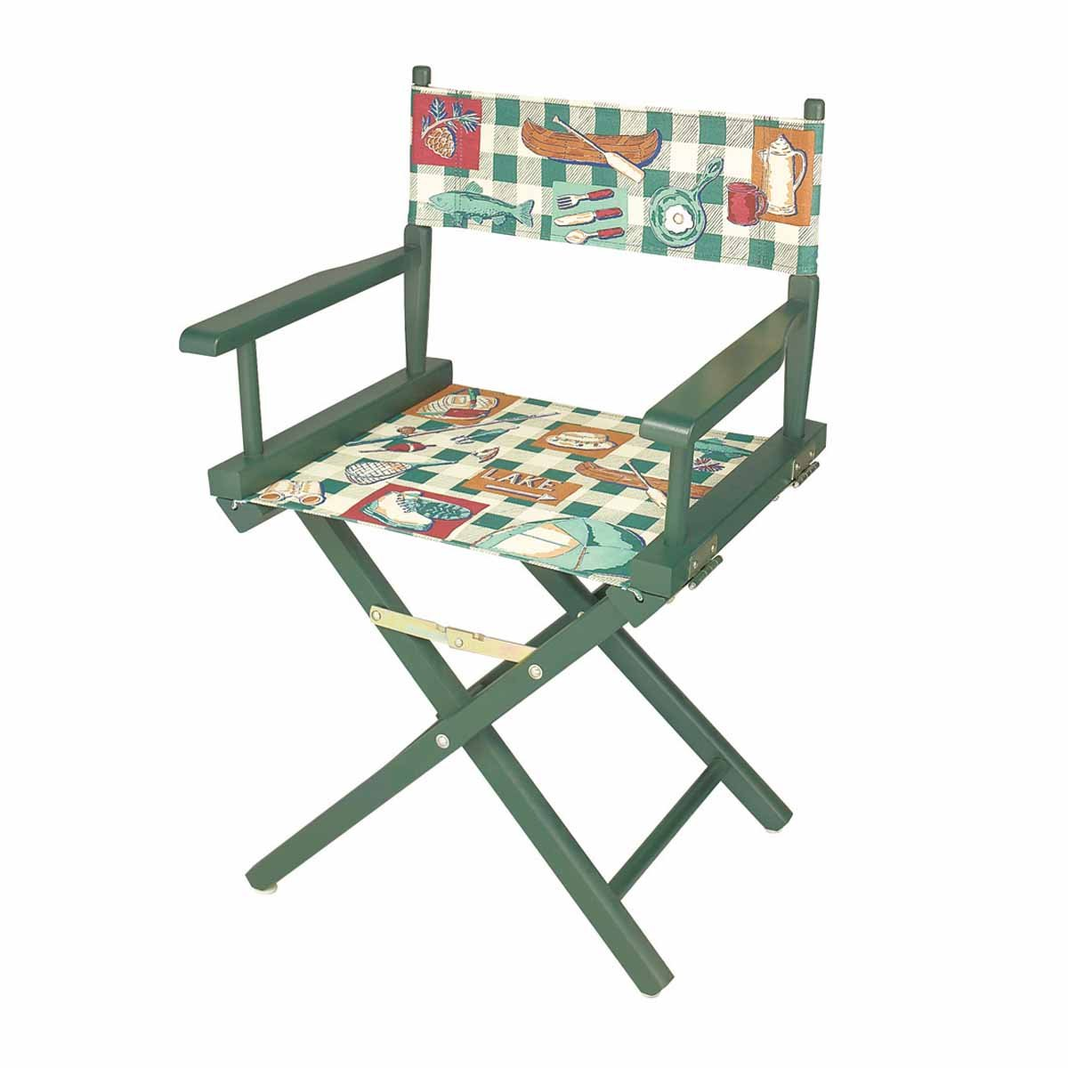 Renovator's Supply Folding Chairs Cotton/Wood Folding Chair 33 5/8