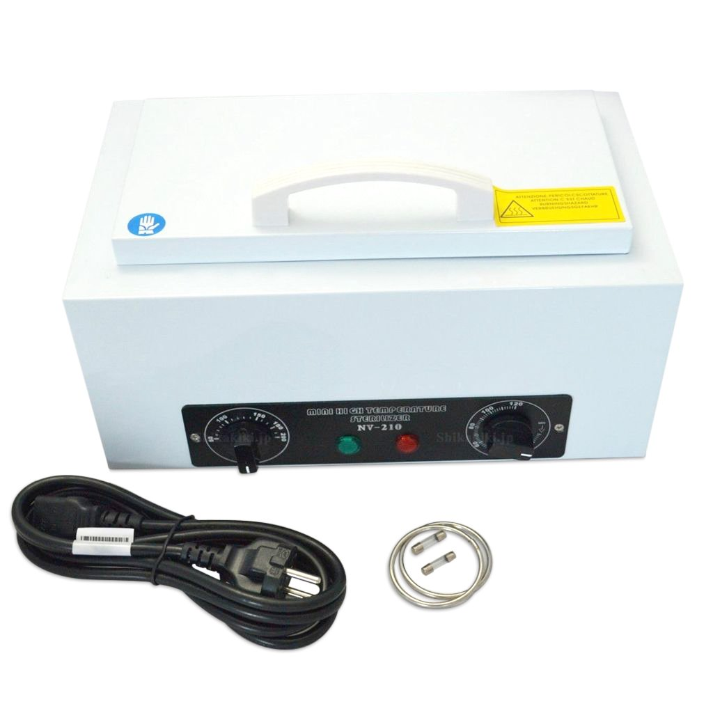 APHRODITE ミニ滅菌器 NV-210 乾熱滅菌器(コンパクトドライクレーブ) B0771PPN7F