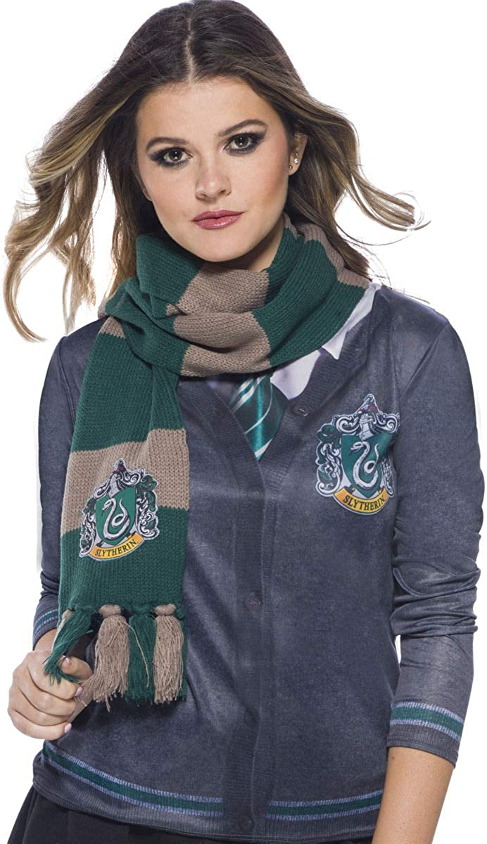 Rubie's Adult Harry Potter Scarf, Slytherin