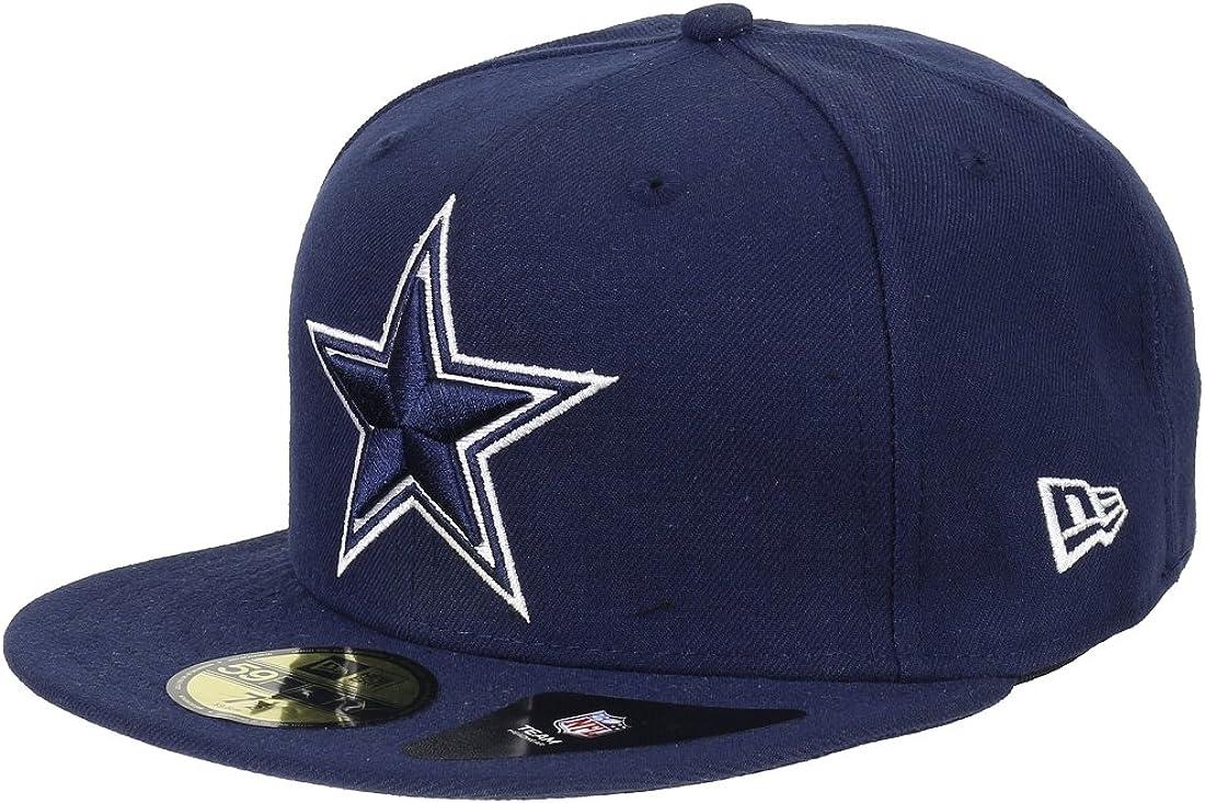 A NEW ERA Dallas Cowboys 59 Fifty – Gorra NFL – Marina Blau/Dallas ...