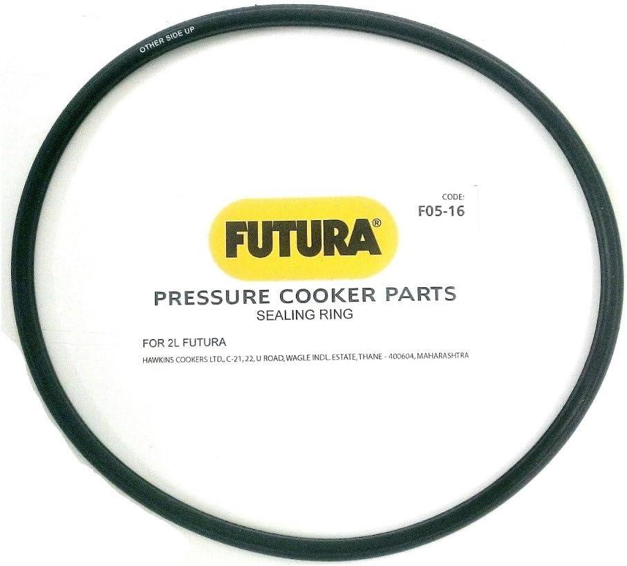Futura by Hawkins Gasket Sealing Ring for 2-Liter Pressure Cooker, Black