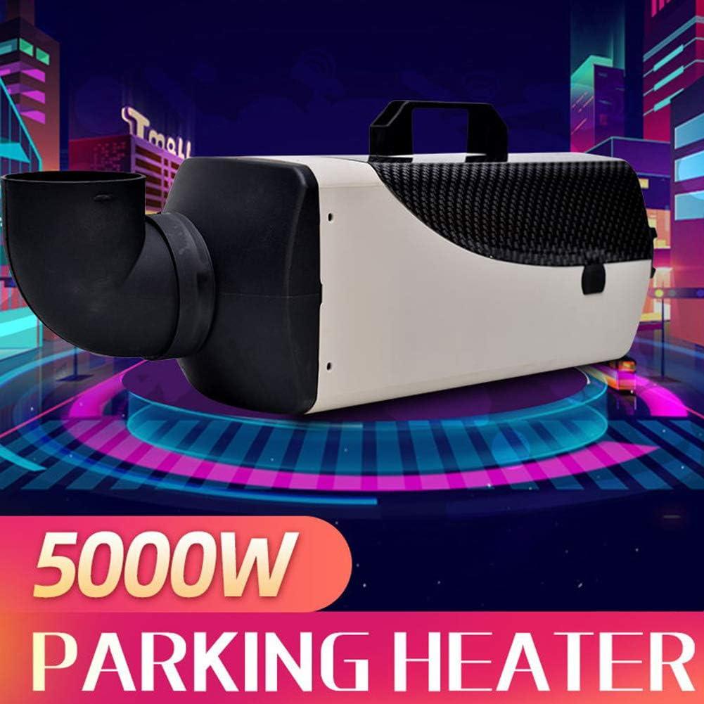 Mophorn Chauffage de Voiture 12V 5KW avec 2 Silencieux Commutateur LCD Air Heater Remorque De Camping-Car
