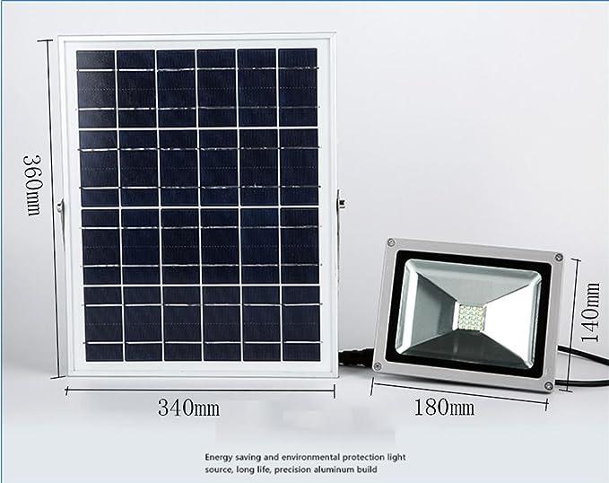 Oofay light®proiettore faretto solare da esterno proiettore per
