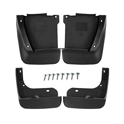 Set of 4 Front and Rear Mud Flaps Splash Guards for Honda Accord 2003-2007: Automotive