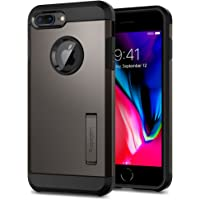 Spigen [Tough Armor 2] iPhone 8 Plus Case/iPhone 7 Plus Case with Kickstand Air Cushion Technology for Apple iPhone 8 Plus (2017) / iPhone 7 Plus (2016) - Gunmetal
