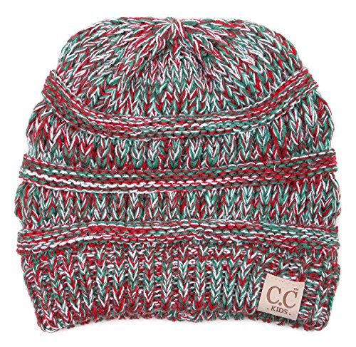 H-3847-816.6208 Kids Beanie (NO POM) - Christmas for $<!--$11.99-->