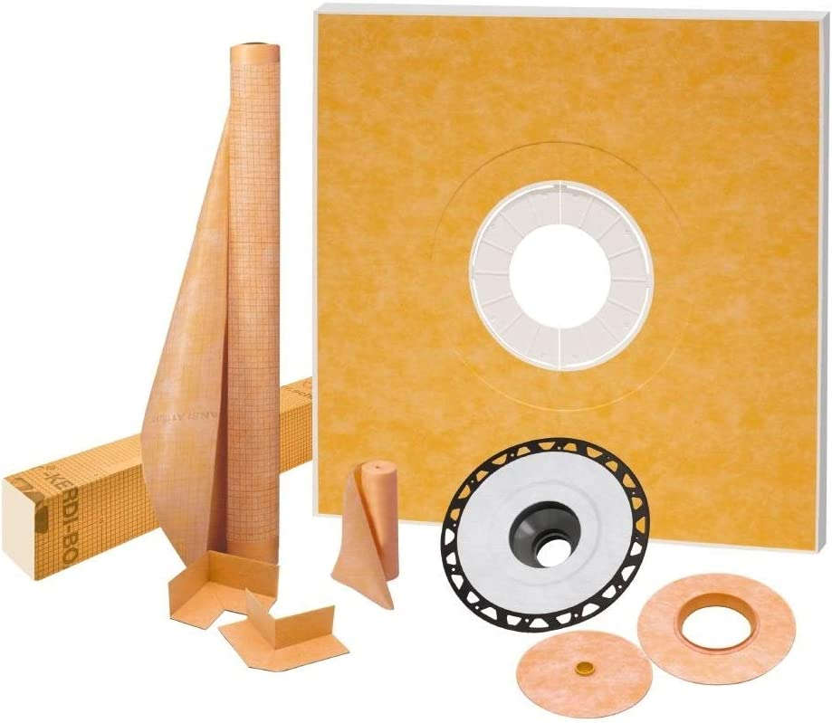 *NEW KITS* ALL SIZES SCHLUTER KERDI SHOWER KIT WITH DRAIN FREE SHIPPING