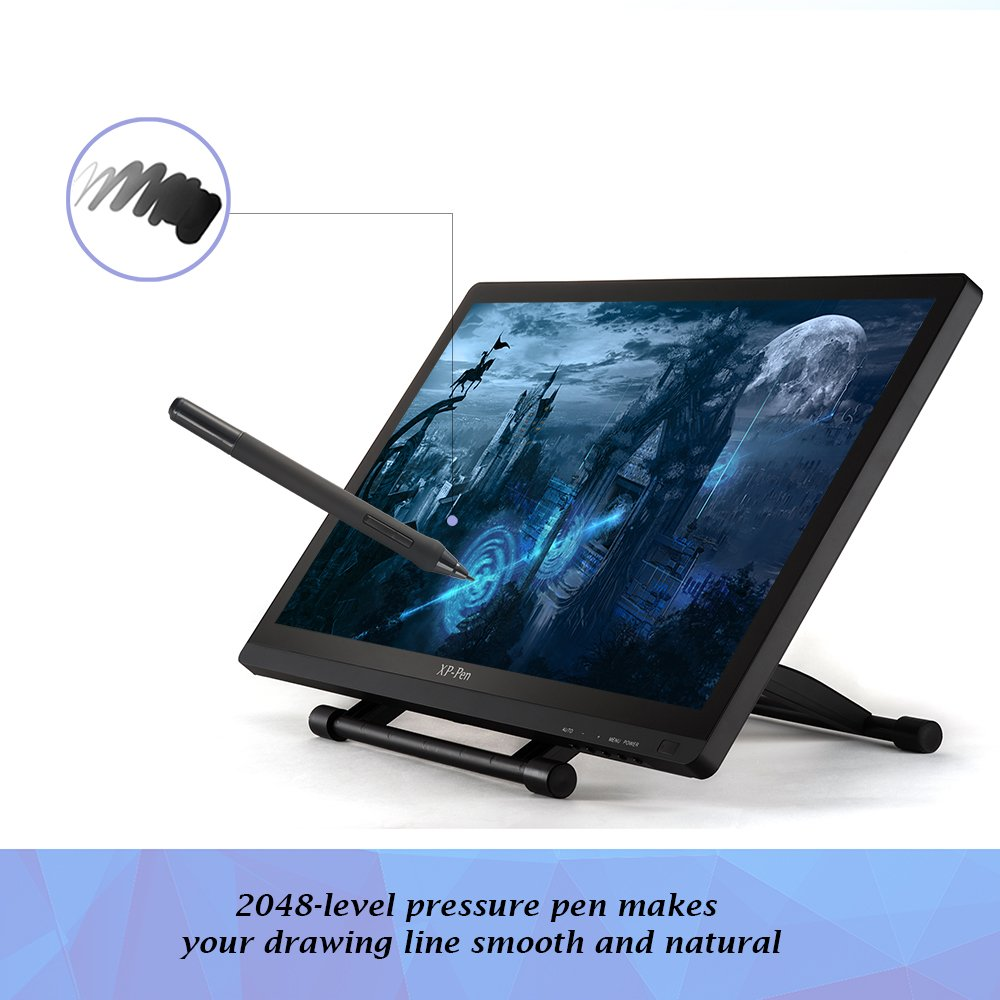 Dr drawing pages on computer - Amazon Com Xp Pen Artist22 22 Inch Pen Display Graphic Monitor Ips Monitor Drawing Tablet Dual Monitor Computers Accessories