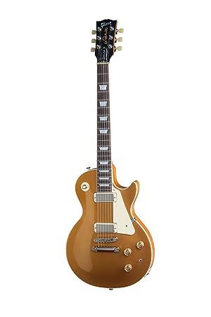 Gibson Les Paul Deluxe 2015 - Guitarra eléctrica, acabado gold top: Amazon.es: Instrumentos musicales