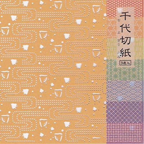バックストリートファクトリー 千代切紙 千鳥(CHIDORI) 3枚入り