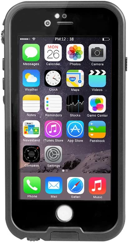 iPhone 6S Plus Coque étanche, sous l'eau complète scellé Coque anti-choc anti-neige protection IP68 Certifié Coque étanche pour 6S Plus