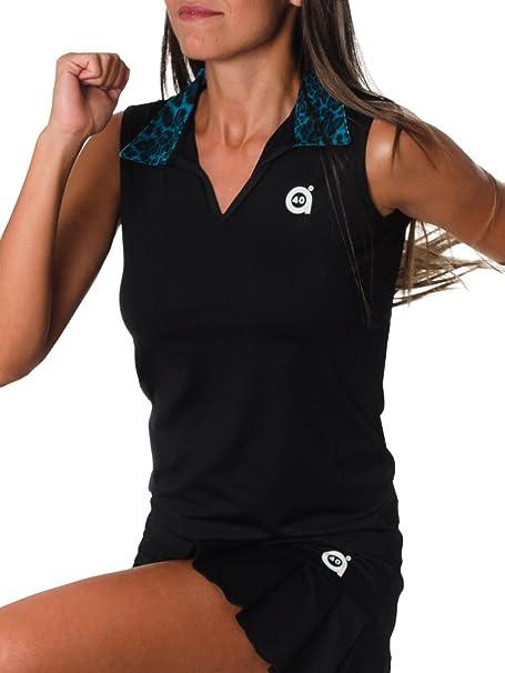 a40grados Sport & Style Puma Polo Manga Sisa de Tenis, Mujer