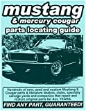 img - for Ford Mustang/ Mercury Cougar Parts Locating Guide book / textbook / text book