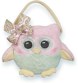 3f5873b062dc Bearington Dreamer Carrysome Girls Plush White Pink Unicorn Stuffed ...