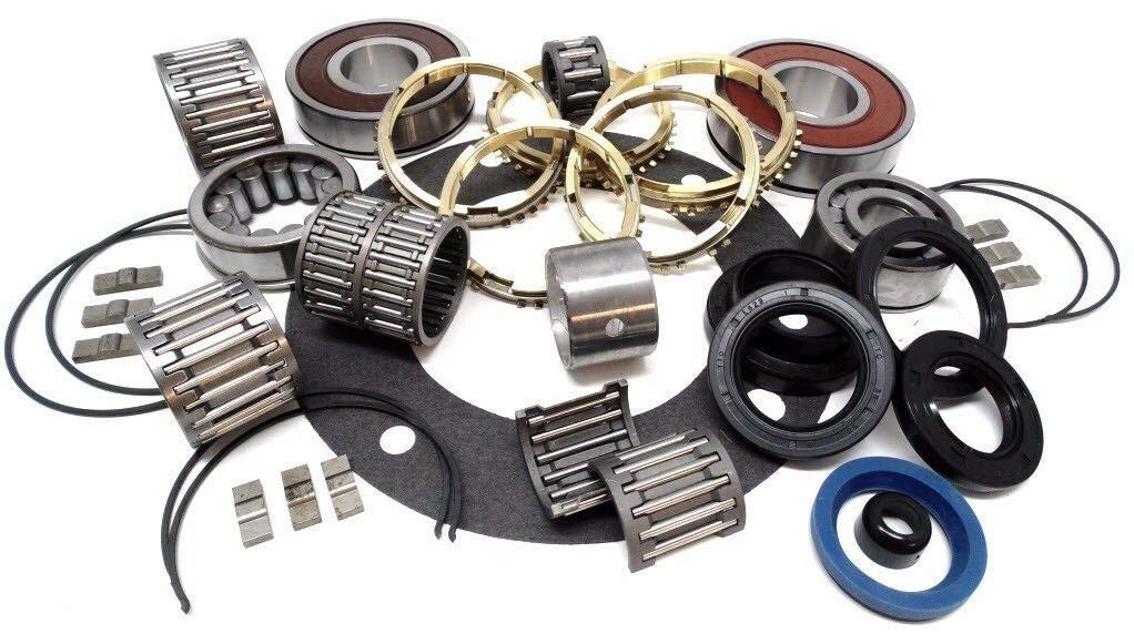 AX15 TRANSMISSION REBUILD KIT COMPLETE WITH SYNCHROS & BEARINGS