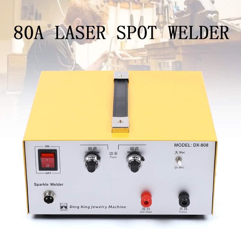 Pulse Sparkle Spot Welder 110V 80A Portable Spot Welding Machine ...
