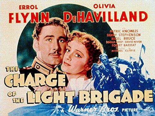 The Charge Of The Light Brigade, Errol Flynn, Olivia De Havilland, 1936 - Premium Movie Poster Reprint 32