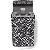 Stylista Washing Machine Cover Compatible for Whirlpool 7 kg 360 Degree Bloomwash Ultra 7.0 Fully-Automatic Top Load Printed