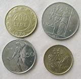 IT 1971 Italian coins lira Very Fine