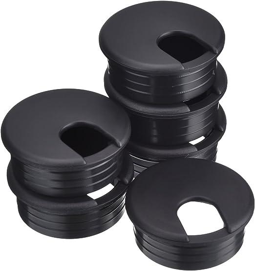 BBTO 45 mm de Pasacables de Mesa Negro Ojal de Alambre Cable de PC ...