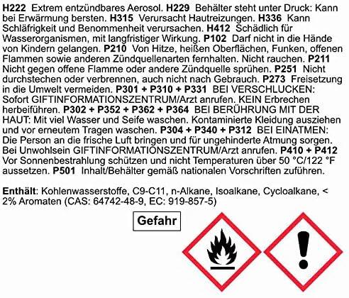 Brehma 12x Hohlraumschutz Hohlraumversiegelung Spray 500ml Wachs Auto