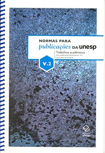 Normas Para Publicações Da Unesp V2 (Portuguese Edition)