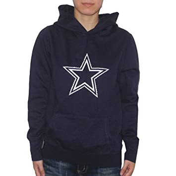 new arrival b28a5 ad135 Amazon.com: Womens NFL Dallas Cowboys Athletic Pullover ...