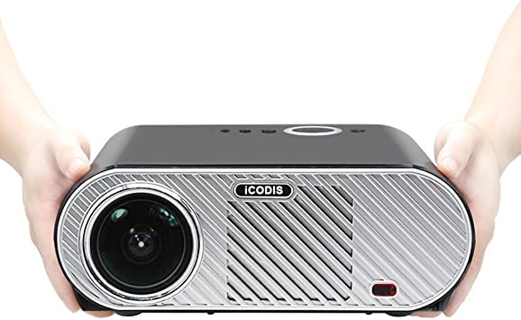 iCodis G6 Proyector, Soporta 1080P, 3200 Lumens LED, 30000 ...