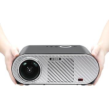 iCodis G6 Proyector, Soporta 1080P, 3200 Lumens LED, 30000 Horas ...