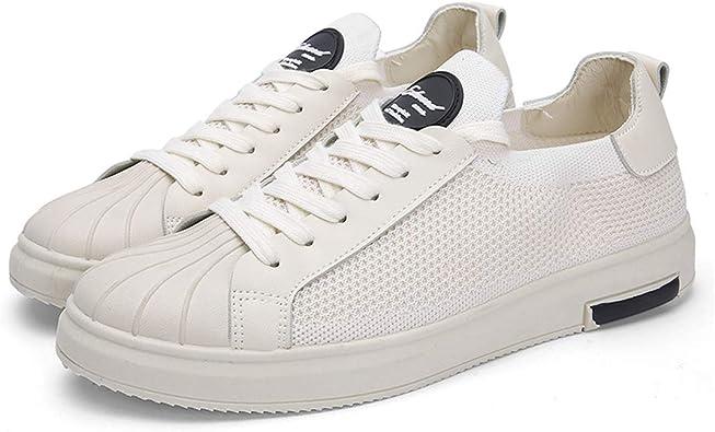 White Men Shoes Luxury Fashion Students