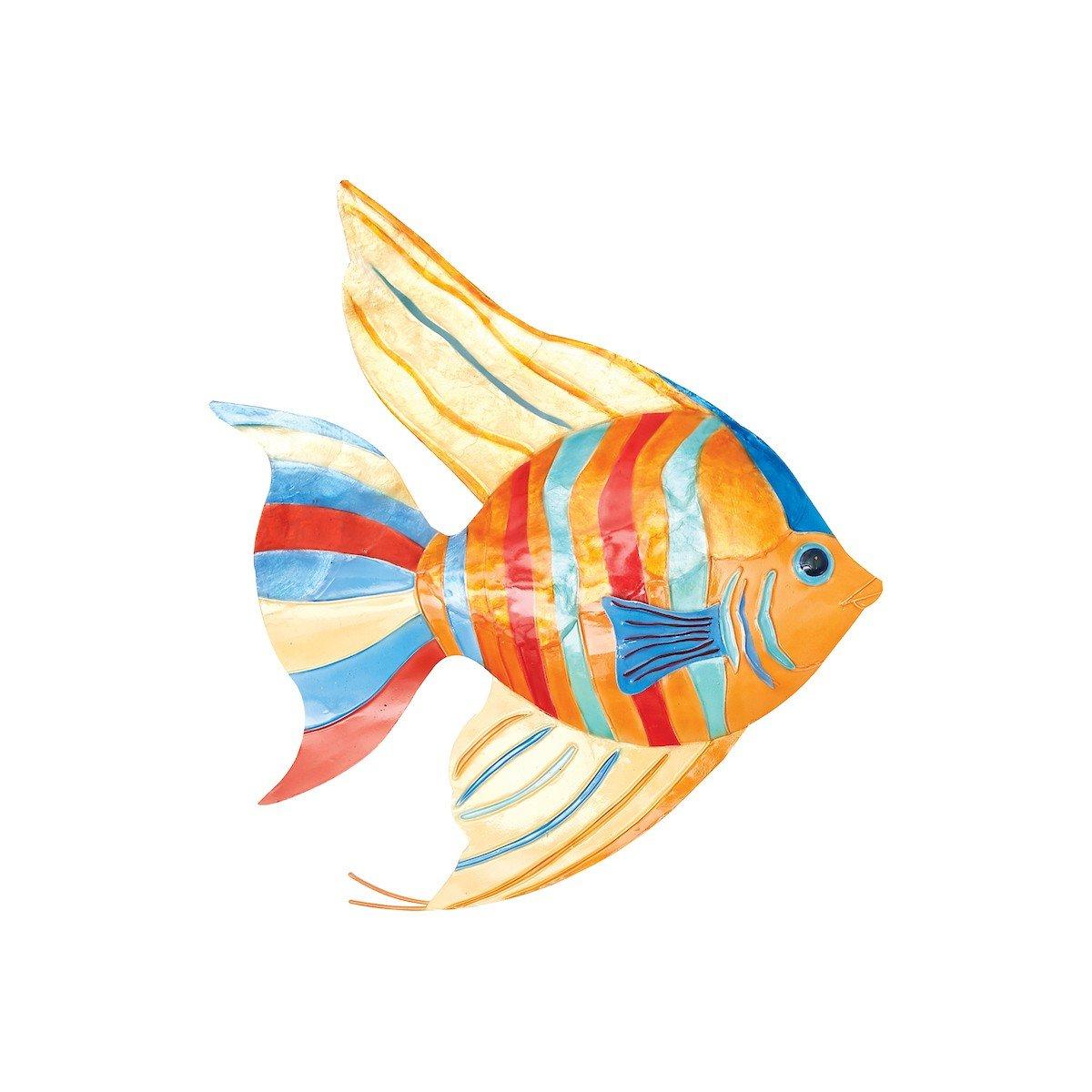 GALLERIE II Bimini Island Tropical Coastal Fish Wall Art