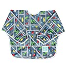 Bumkins Waterproof Sleeved Bib, Traffic (6-24 Months)