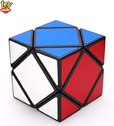 Toy Arena Ultra Smooth Magic Skewb Cube, Speed Puzzle Cube,Creative & High Speed Stickered Magic Cube