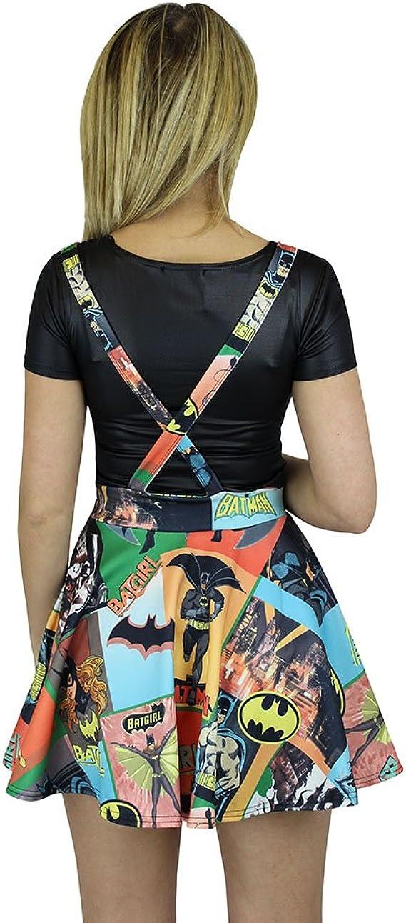Batman de portadas de cómic de Batgirl logotipo de Mini falda de ...