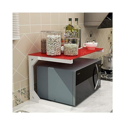 LJFYMX Soporte microondas Estantes de la Cocina, estantes del ...