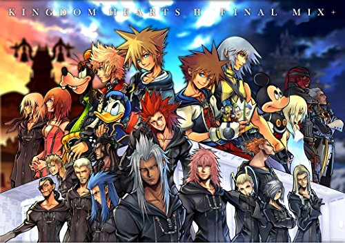 Kingdom Hearts Boy 1 2 poster