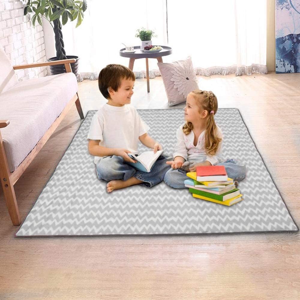 130cm*130cm Non-Slip and Waterproof Protection Mess High Chair Floor Protector Mat Cover Machine Washable Mess Mat and Table Cloth for Baby and Toddler Feeding Volwco Waterproof Floor Spill Mat