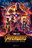 """Amazon Price History for:PosterOffice The Avengers Infinity War (Advance) Movie Poster - Size 24"""" X 36"""" - This is a Certified Print with Holographic Sequential Numbering for Authenticity."""