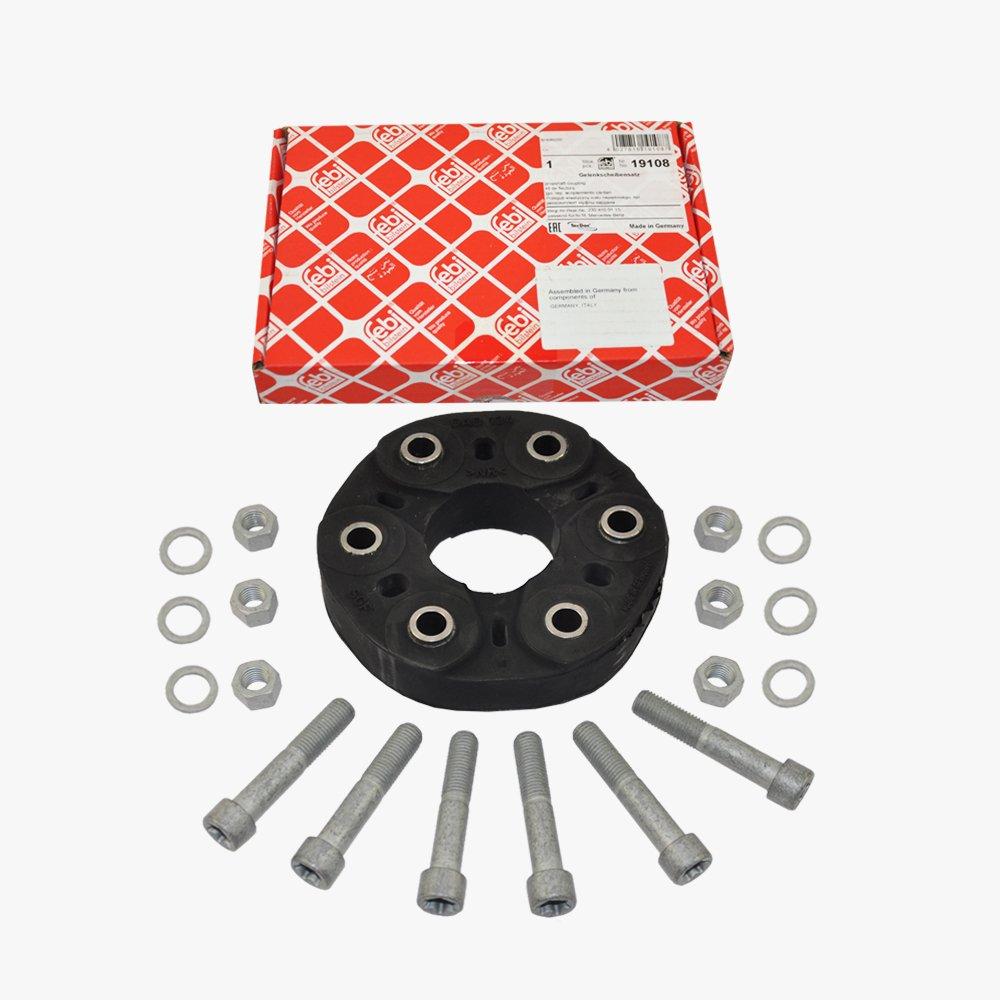 Mercedes-Benz Front Drive Shaft Flex Disc Coupling Kit Febi Germany 2304100115