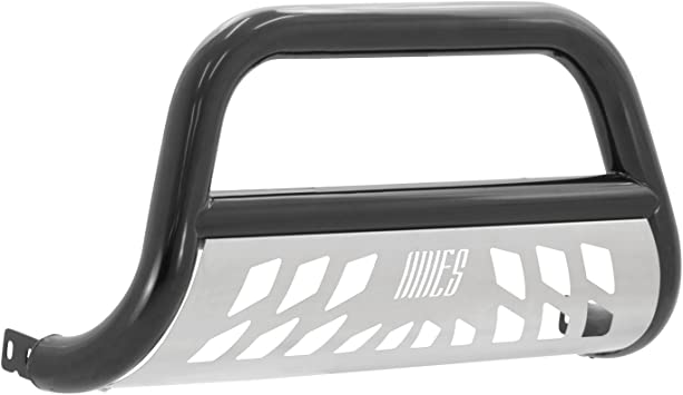 Tundra ARIES B35-2004-3 Stealth 3-Inch Black Stainless Steel Bull Bar Pearl 3 Inches Select Toyota Sequoia