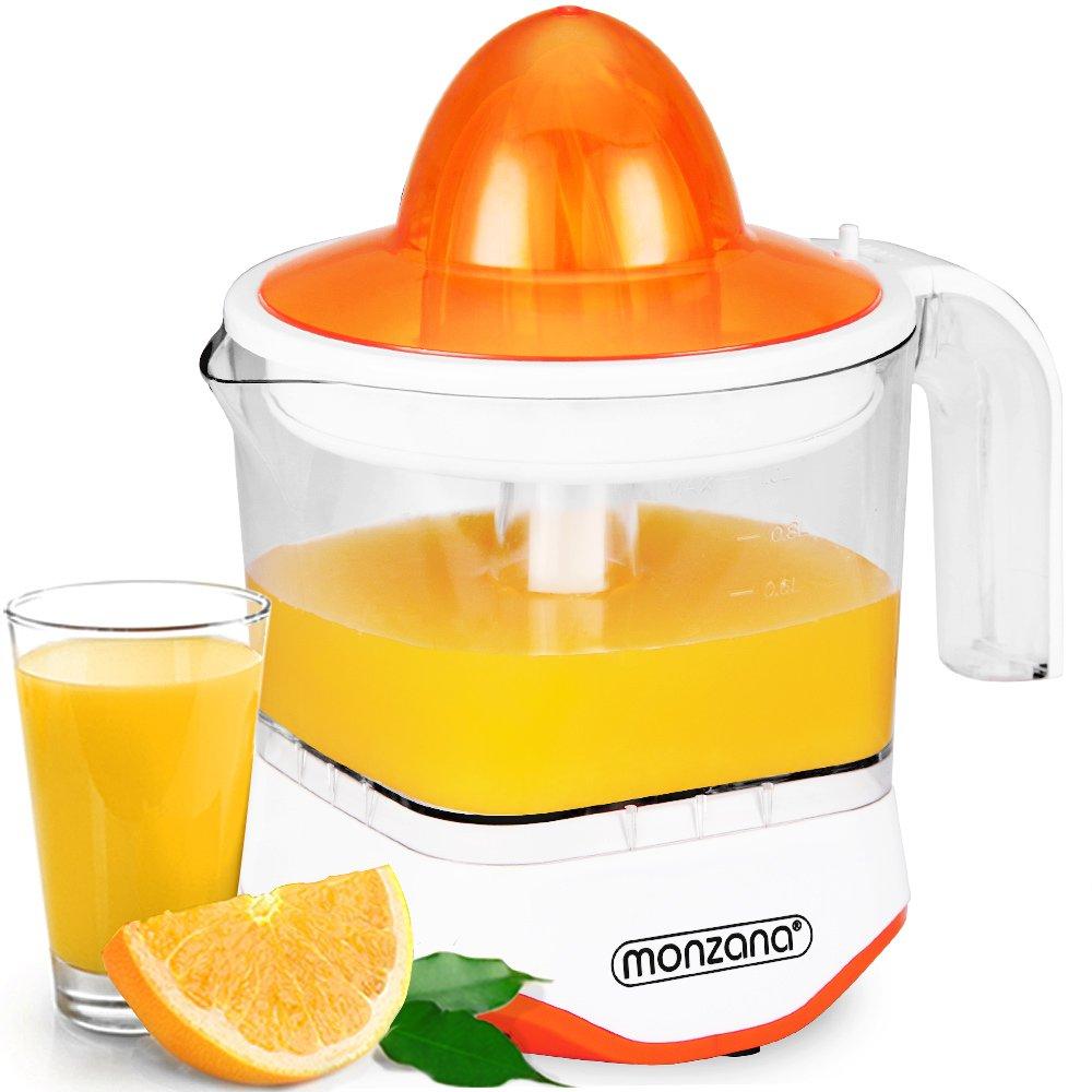 Presse-agrumes - 1000ml 40W - Fruits agrumes orange citron jus pressé - Bol gradué rotation alternée Monzana