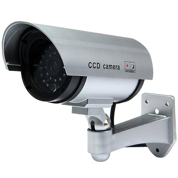 26 opinioni per TELECAMERA FINTA DI SICUREZZA FAKE VIDEOSORVEGLIANZA PROFESSIONALE CCTV