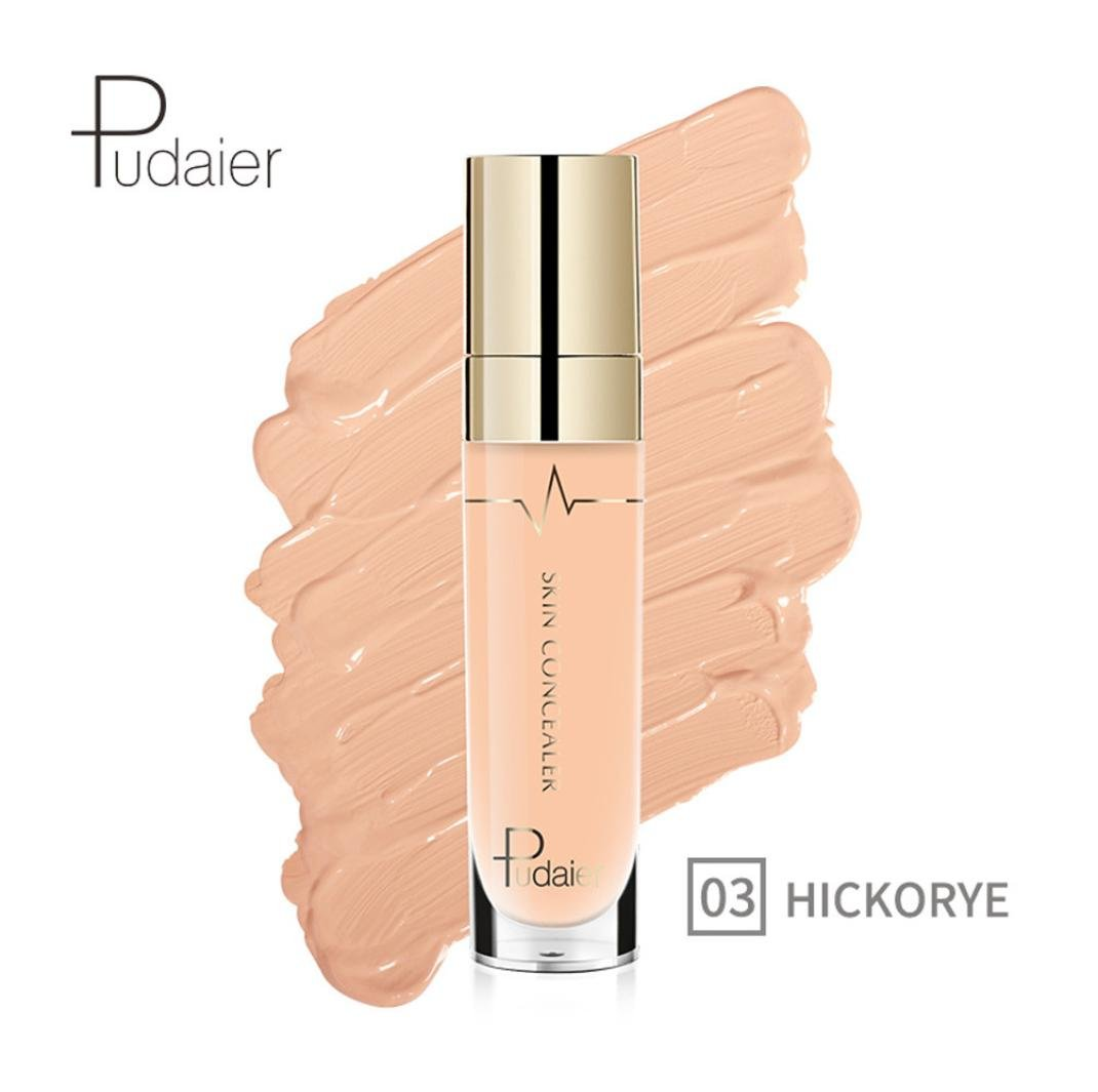 Anti-cernes, Malloom Concealer Oeil de visage Fondation Surligner le contour Stick liquide Maquillage Crème naturelle (06#)