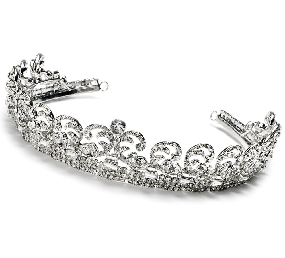 USABride Royalty Bridal Crown, Kate Middleton Royal Wedding Tiara 3067 by USABride