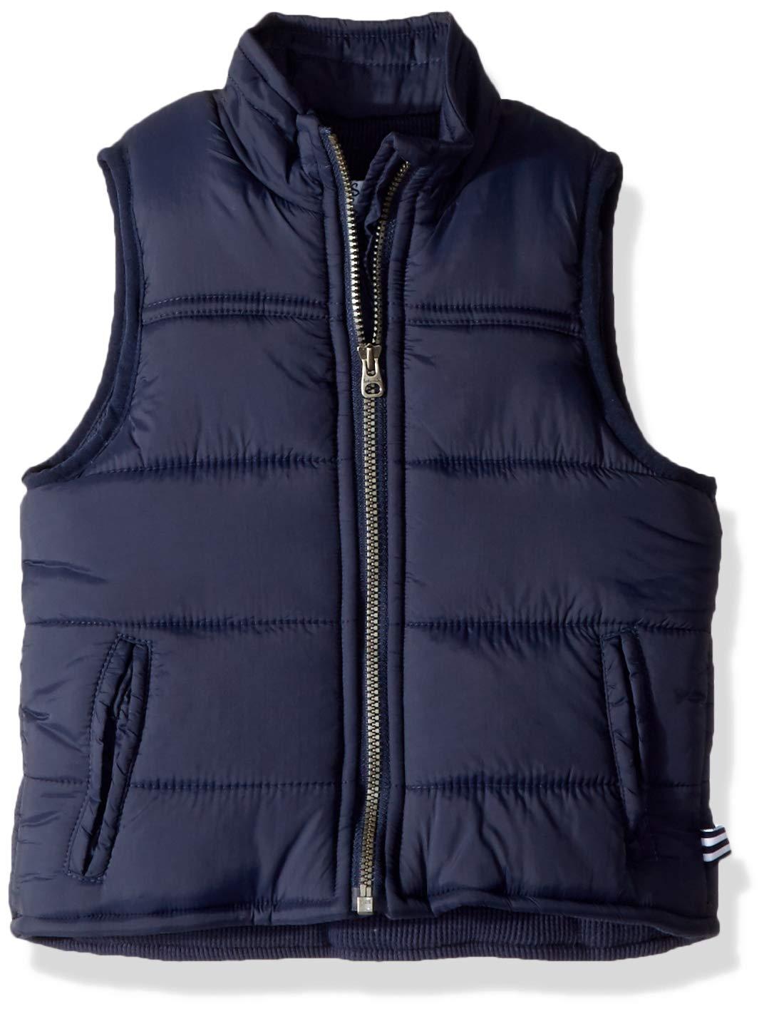 Splendid Toddler Boys' Puffer Vest, True Navy, 2T