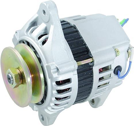 New Alternator For John Deere Tractor Skid Steer Loader 4020 3012 3015 Yanmar