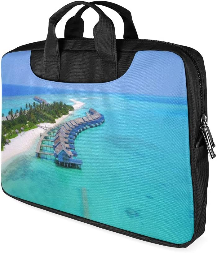 13 Inch Amazing Panorama of Sunset Womens Laptop Bag with Handle Lightweight Laptop Case Briefcase Fits MacBook Air Pro