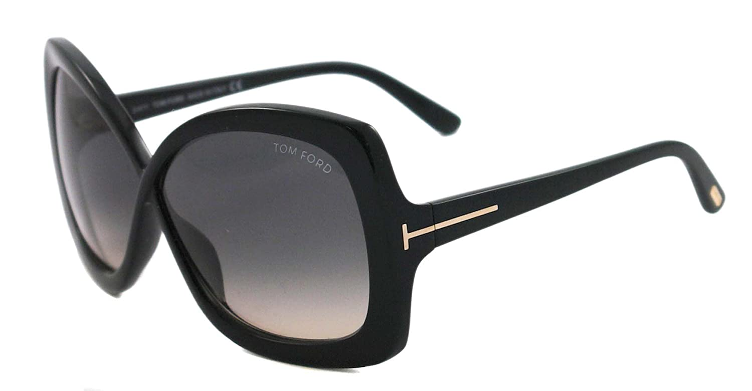 9724ba2d80b Amazon.com  Tom Ford TF 227 Black 01B Calgary Sunglasses - 63 mm  Tom Ford   Clothing